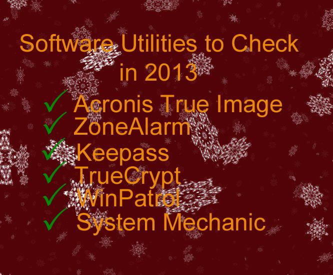 Software Utilities