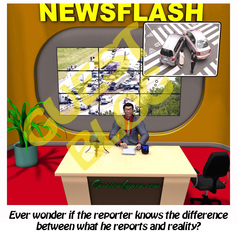 News Reporters Or News Fabricators?