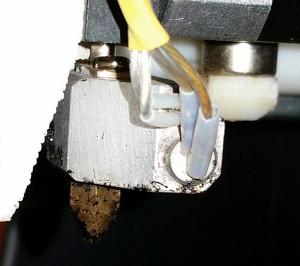 3D printer nozzle, no longer heating